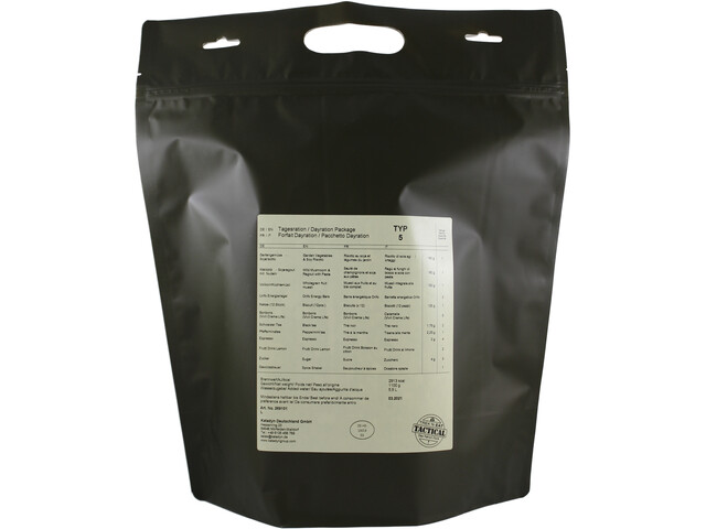 Trek'n Eat Tactical Day Ration Pack 1100g, Typ 5